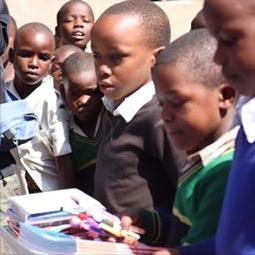 タンザニア ニャブリ小学校
